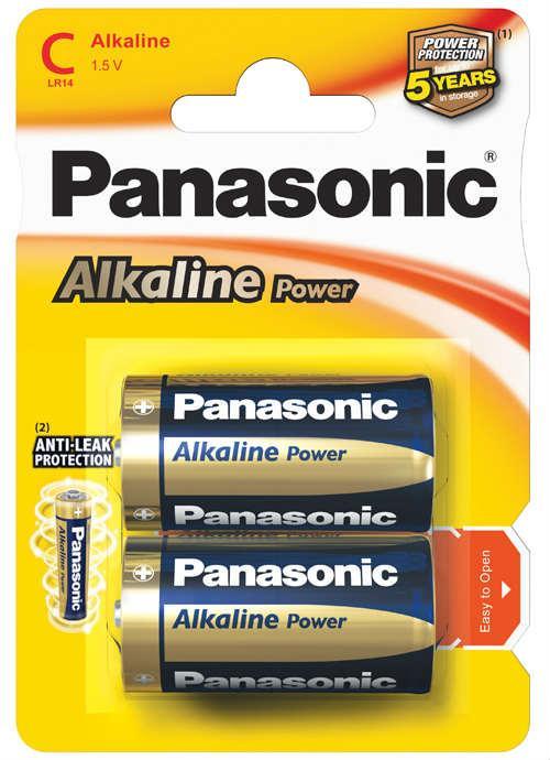 Batterie mezza torcia Alcaline Power