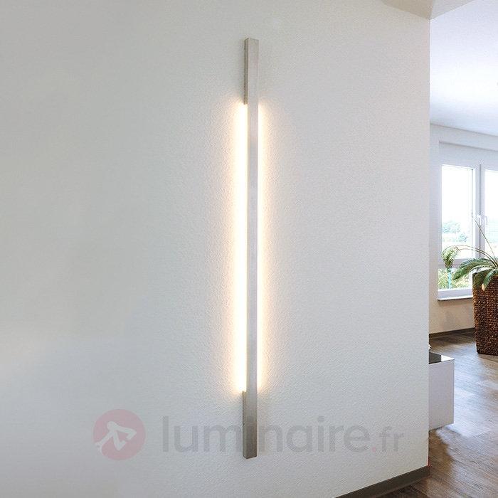 Applique LED LARGA I aspect alu - Appliques LED