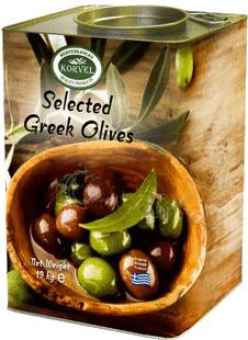 Ελίες - Ελληνικές Φυσικές Ελίες Καλαμών, Πράσινες, Πρασινες Γεμιστές, Μαριναρισμένες