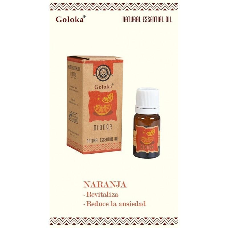 Aceite Esencial Aromaterapia Natural Naranja Goloka 10ml - Aceites Goloka