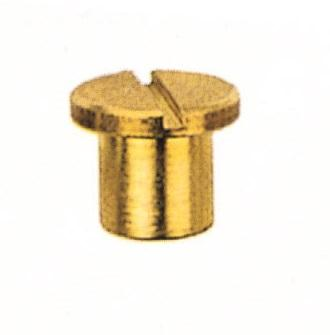 SLEEVE NUT FLAT HEAD IN BRASS - Chairs fittings