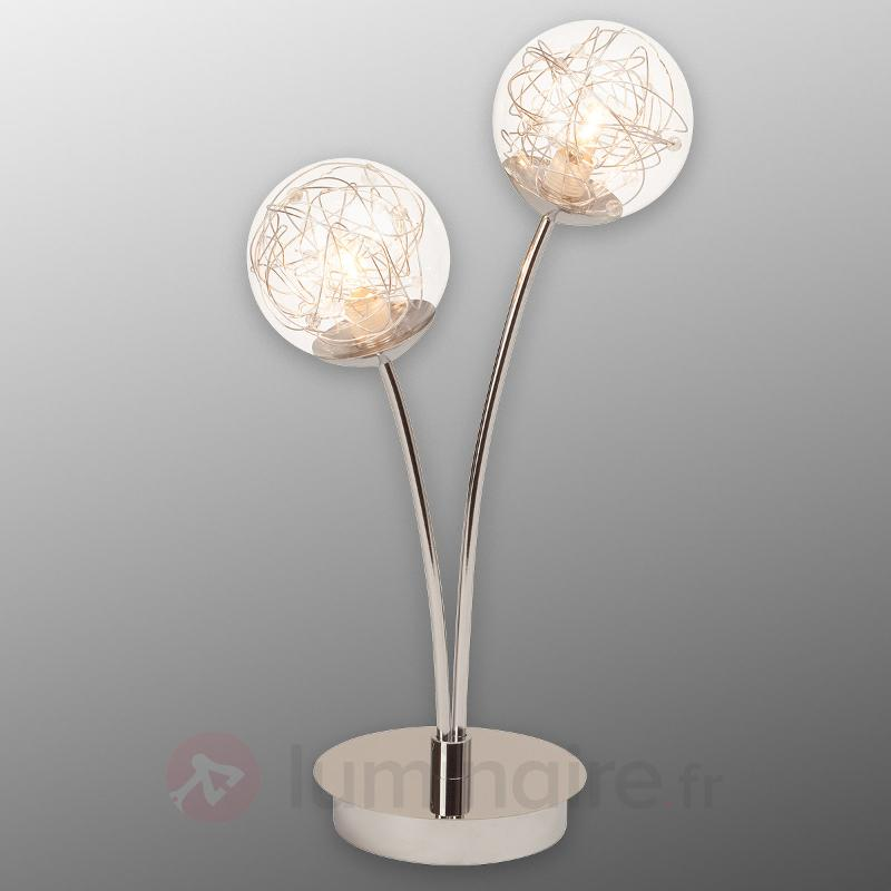 Joya lampe à poser à deux lampes - Lampes de chevet