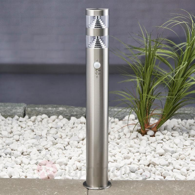 Borne lumineuse LED Lanea à détecteur de mvt 60 cm - Bornes lumineuses avec détecteur