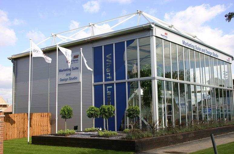 Show room Hall Exposition - Systèmes de construction démontable - Constructions industrielles