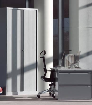 Armoires métalliques à rideaux verticaux - Armoires et caissons métalliques