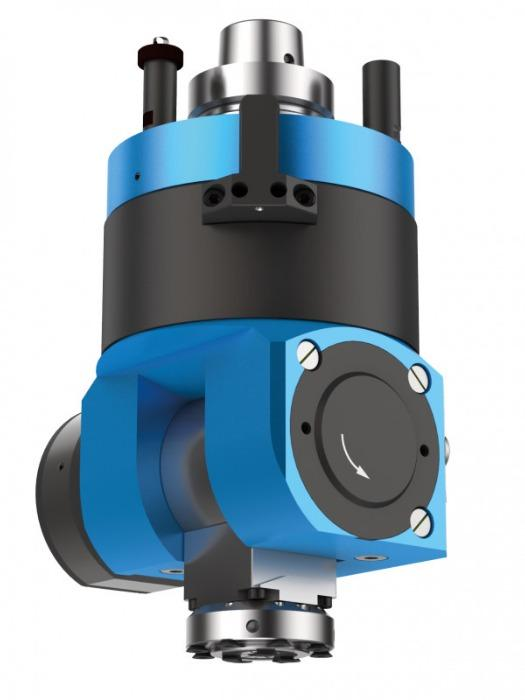Schwenkkopf FLEX5C/5-Motion (automatisch verstellbar) - CNC Aggregat zur Bearbeitung von Holz, Verbundwerkstoff und Aluminium