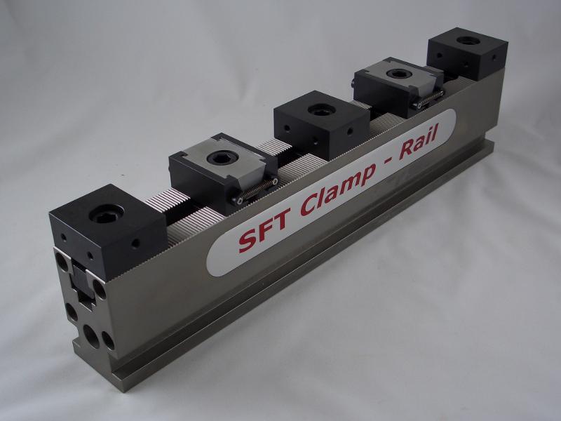 SFT Clamp-Rail Spannschienenset, Länge 400 mm / Breite 50 mm - null