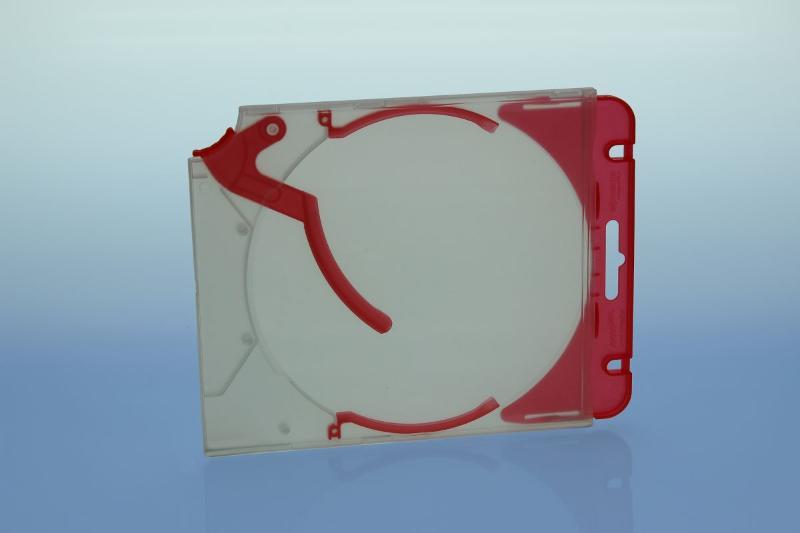 Abheftclip für CD Ejector Case - rot - Ejector/Variopack