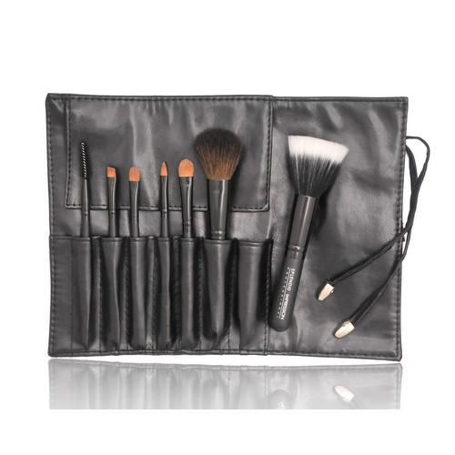 Cosmetic Makeup Brushes Set With Faux Leather Pouch Bag - MTS-18
