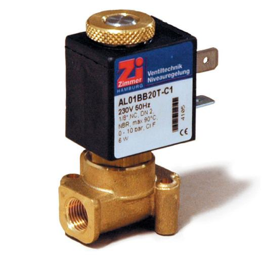 Baureihe / Type AL 01 - 2/2 Wege Magnetventil - null