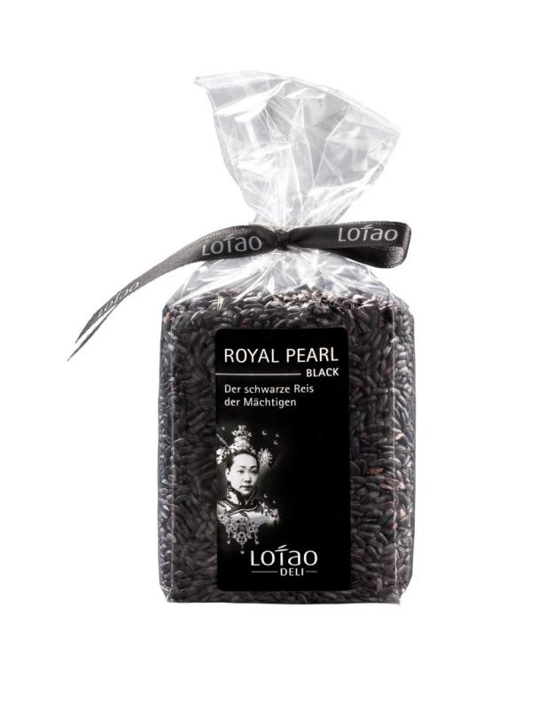 Schwarzer Reis - Bio-Reis Royal Pearl Black