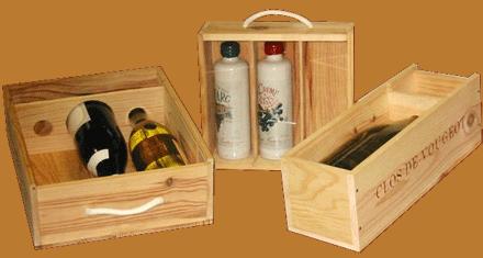 Caisses vins entreprises - Caisse a vin en bois bricolage ...