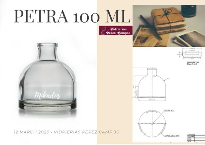 PETRA 100 - Envase especial de vidrio