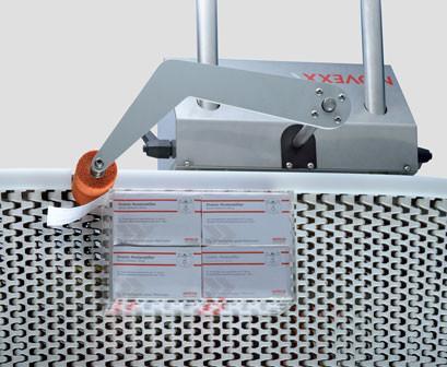Applicateur LA-CE Wipe - applicateur pour étiqueteuse automatique / corner edge / Solution complète