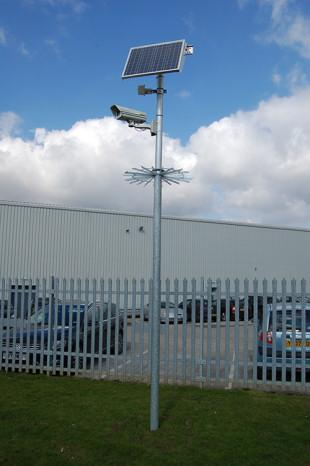 Solar Powered CCTV Camera