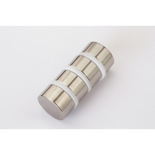 Neodymium disc magnet 20x10mm, N40, Ni-Cu-Ni, Nickel coated - Disc