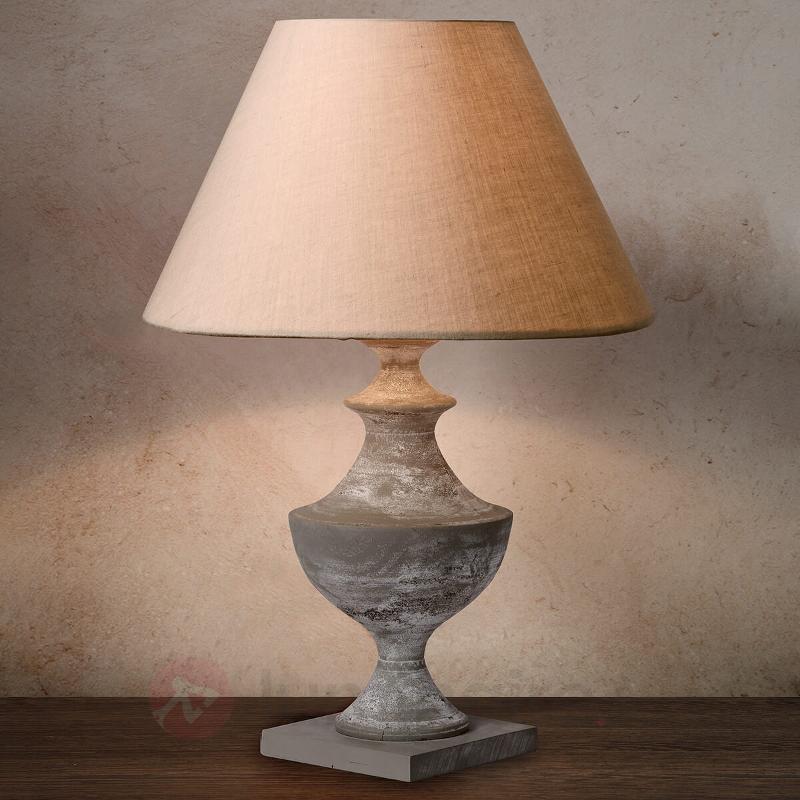 Lampe à poser antique ROBIN - Lampes à poser classiques, antiques