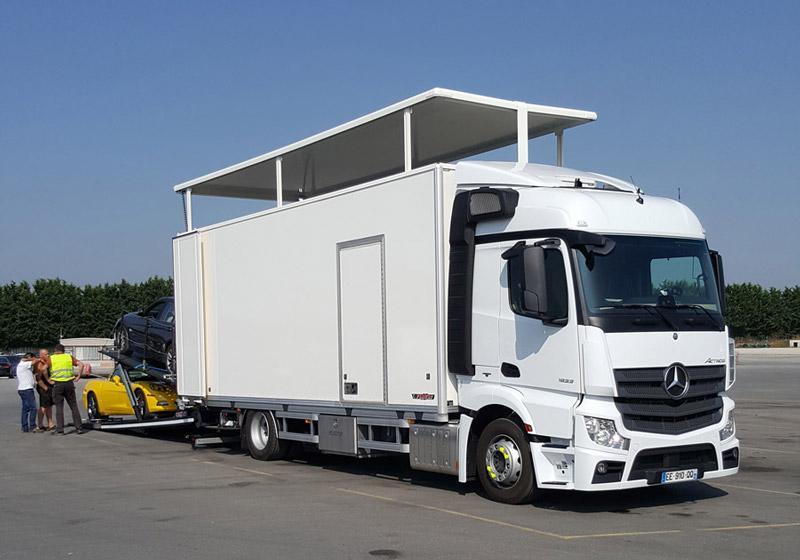 Transport de voiture de collection et de prestige - PARTICULIERS