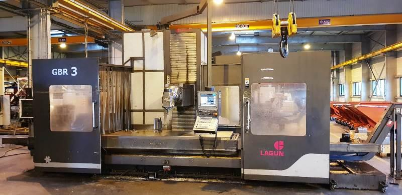 Fresadora de bancada fija LAGUN GBR 3 cnc HEIDENHAIN  - Maquina usada y lista para su entrega