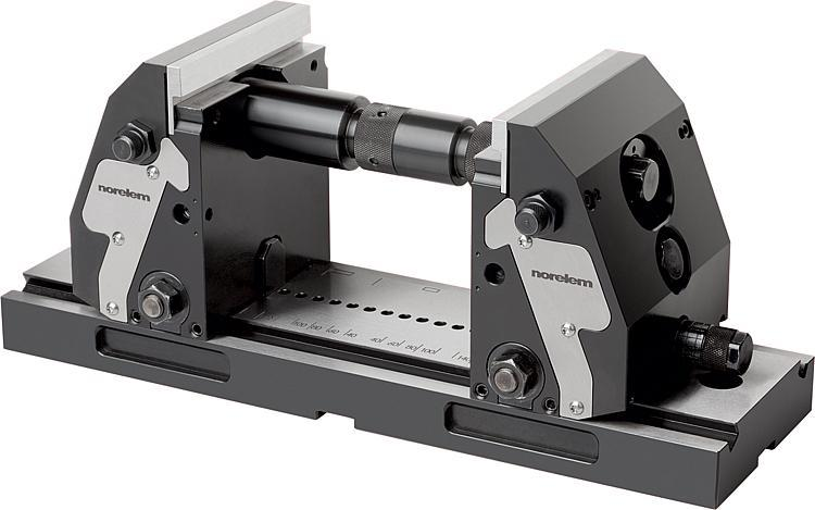 5-axis clamping system compact jaw plate, smooth - Vices