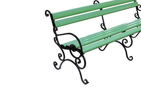 Скамейкка пластиковая , скамейка пвх, зеленая скамейка