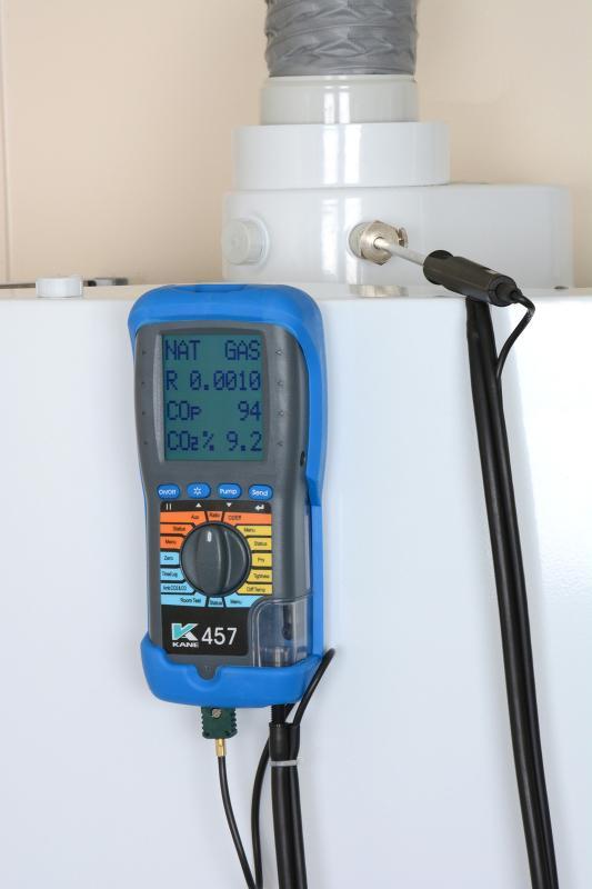 KANE457 - Analyseur de gaz de combustion et d'air ambiant