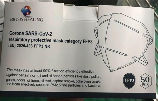 FFP3 NR PFE>98% - null