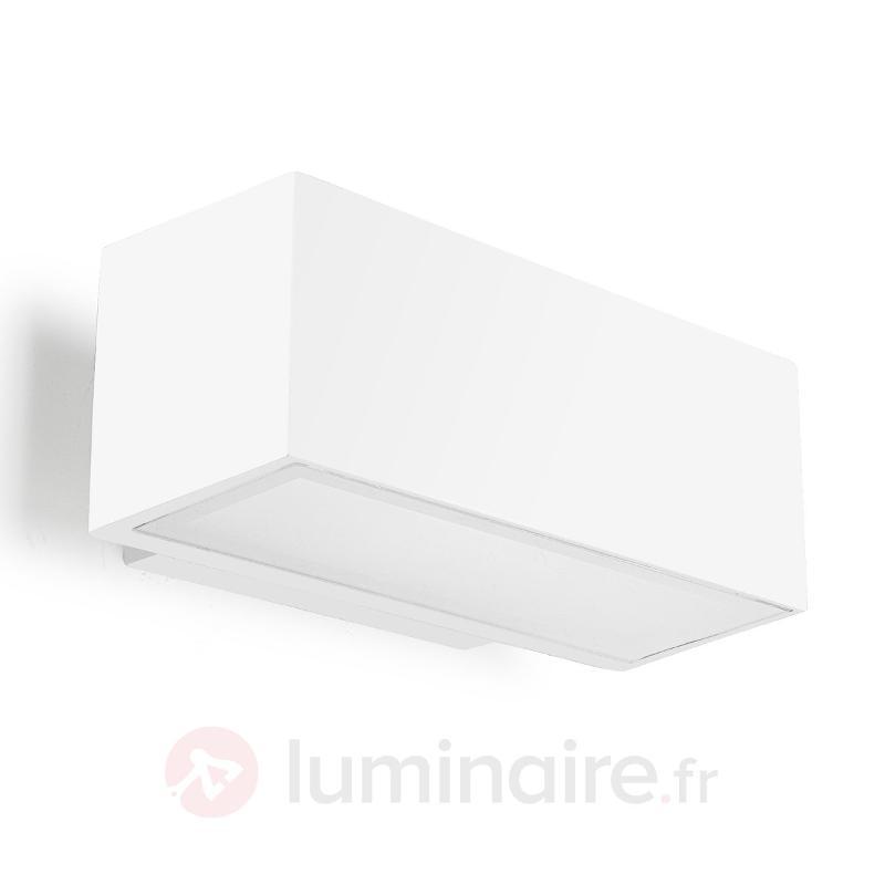 Applique murale extérieure blanche AFRODITA - Toutes les appliques d'extérieur