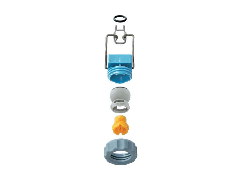 QB series – Quick-installation nozzle - Hydraulic nozzles – Flat Spray Pattern