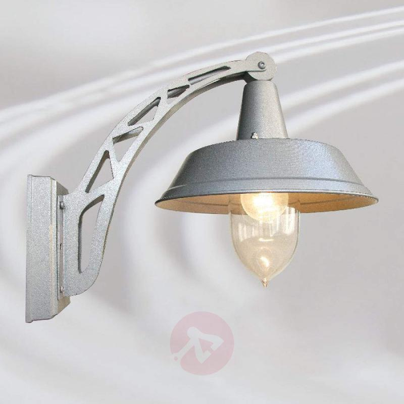 Attractive outdoor wall light Terminal - stainless-steel-outdoor-wall-lights