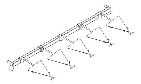 Modular shop rack systems & instore interior shelving design - Iron presentation