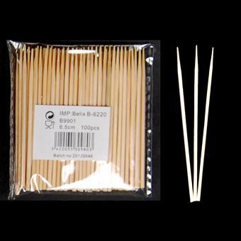 B99 Brochette 6.5cm 100pcs polybag - null