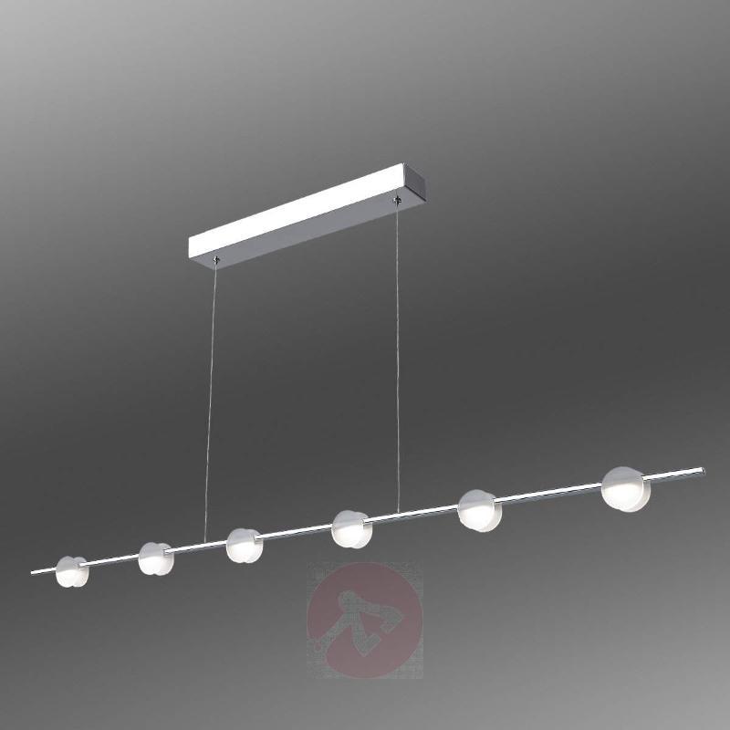 Six-bulb LED hanging light Mary - Pendant Lighting