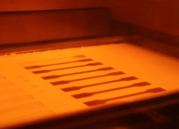 EOSINT P 800 - Additiven Fertigung von Hochleistungspolymeren bei Temperaturen bis zu 385 °C