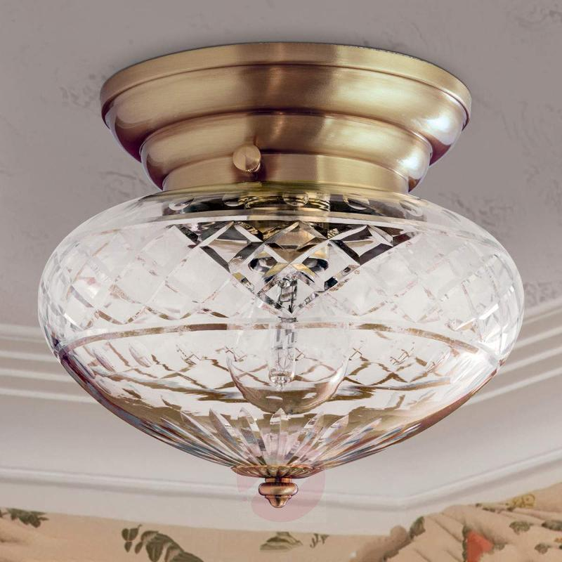Enna Ceiling Light Round Bodied Single Bulb - Ceiling Lights