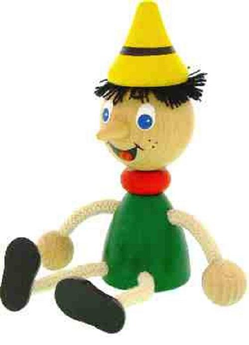 Figurita de madera Pinocho