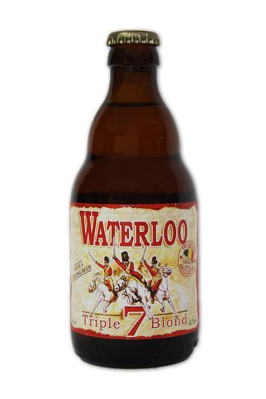 WATERLOO Triple blond beer - null