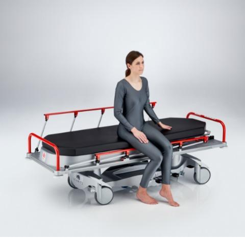 STL 285 - Patient Stretcher for hospitals - The Patient Stretcher for use inside hospitals
