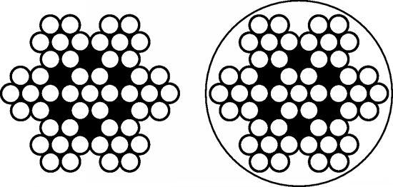 CÂBLE SOUPLE 7X7 - INOX A4 (431900)