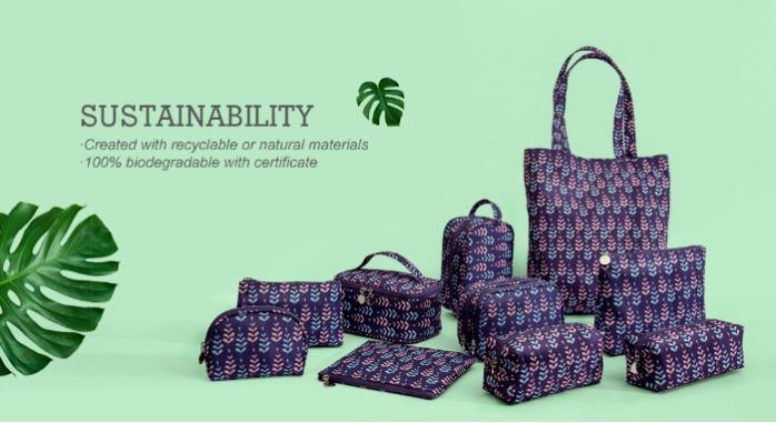 Genbrugt RPET taske - Genbrugt RPET taske