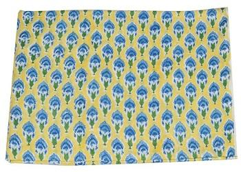 Cotton Voile Flower Indian Hand Block Print Sewing Mate