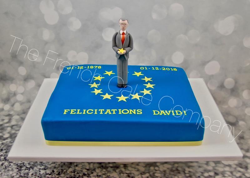 Gâteaux et Pièces Montées sur-mesure - Gâteau personnalisé thème Europe