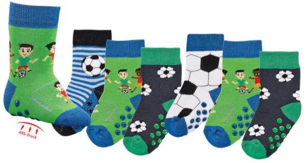 5173 - Full-Terry/Anti-Slip Baby Socks - comfy and warm with regularly changing  designs