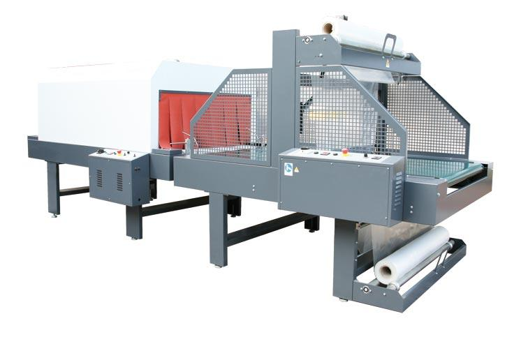 AUTOMATIC CONVEYOR TYPE SLEEVE WRAPPER LINE