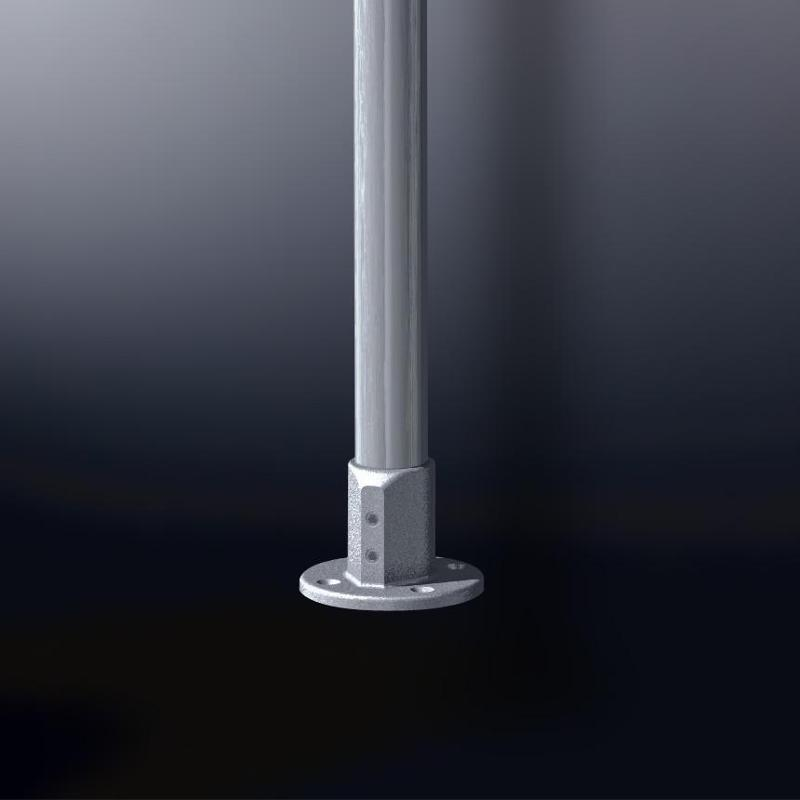 XT design tubular fittings - Tube Bracket Nr. 11a