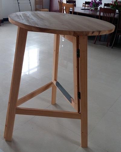 Table ronde - Matériau en bois