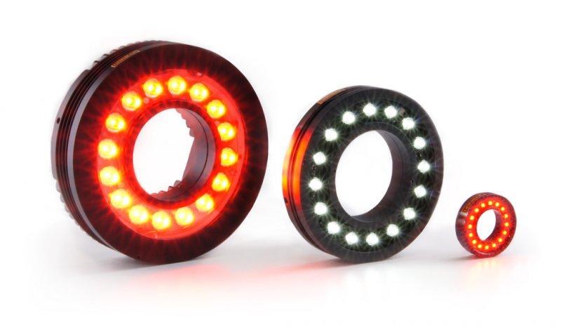 LED-Ringbeleuchtung CRC-Serie, LR-Serie und LSR-Serie - LED-Ringbeleuchtung und Ringblitz für die industrielle Bildverarbeitung