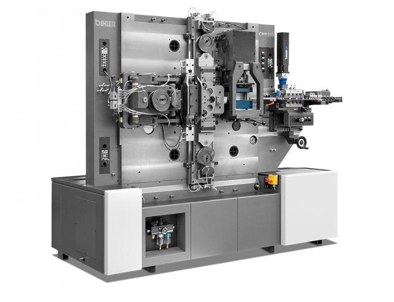Buchsenmaschine - GRM 80B - Standardisiertes Fertigungssystem GRM 80B für gerade Buchsen und Flanschbuchsen