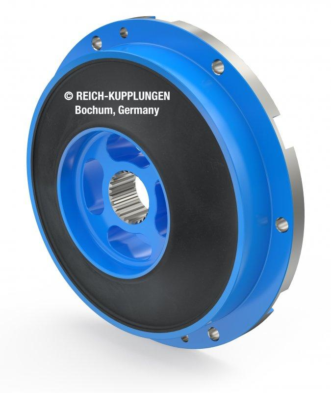 TOK plug in - TOK - highly flexible coupling, hub with toothing