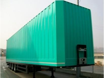 Maxivolume Container - Designed and built for road transport and ro-ro transfer of voluminous cargoes
